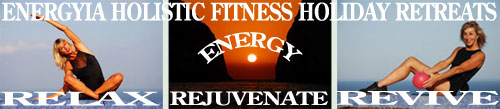 Holisitc Fitness holidays for energy and vitality