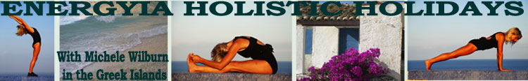 Join Michele Wilburn with holistic fitness activity holidays in the Greek Islands
