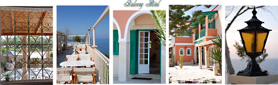 The Balcony Hotel provides a charming and feminine ambience for Energyia holistic fitness holidays