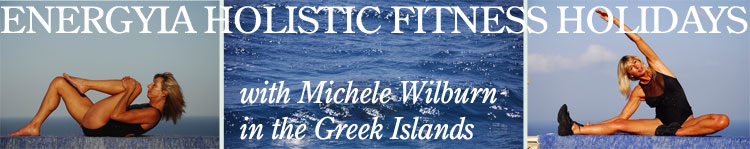Michele Wilburn hosts Energyia holisitc fitness activity holidays in Zakynthos Greek Islands during the summer